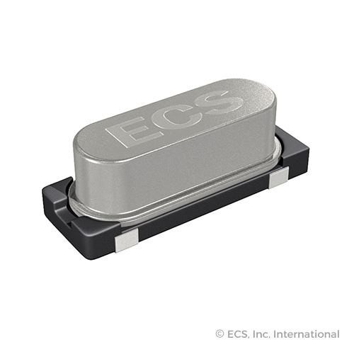 ECS-270-18-30-JGN-TR 50 Items Crystal 27MHz /±20ppm Stability Tol /±30ppm 18pF Fund 30Ohm 2-Pin Mini-SMD T//R