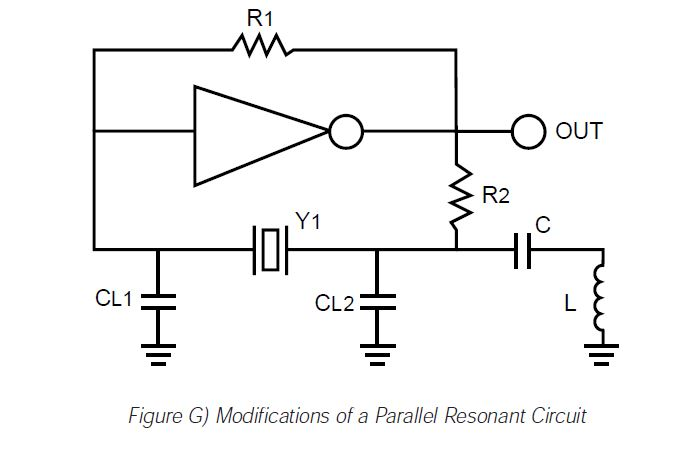 figure g modifications of a parallel resonant circuit
